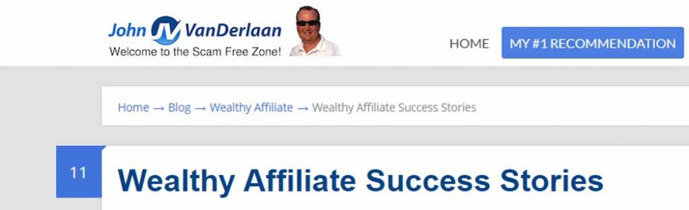 WA Affiliate Site with so-called
