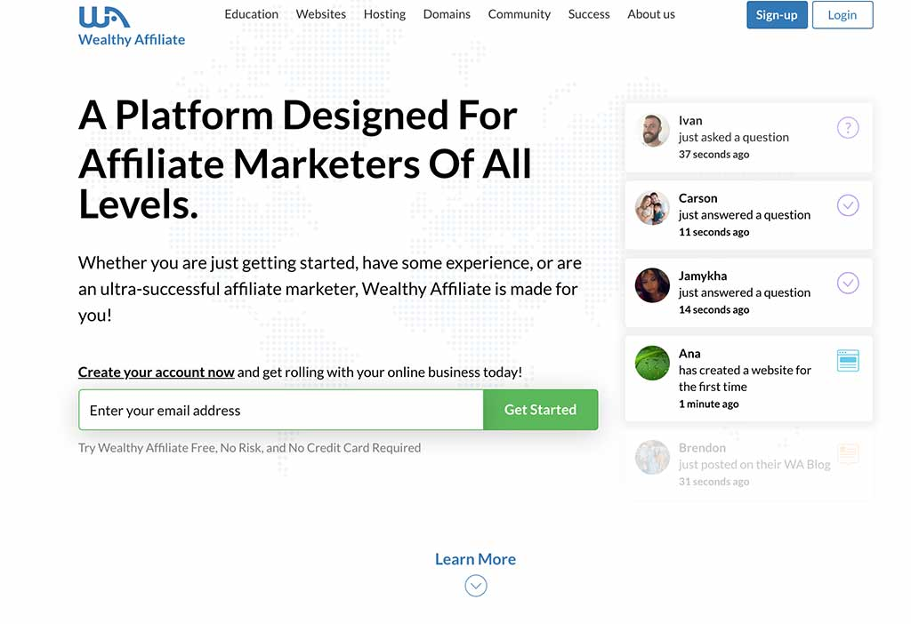 Wealthy Affiliate Review 2021 – Never Buy Another Affiliate Marketing Course Again!
