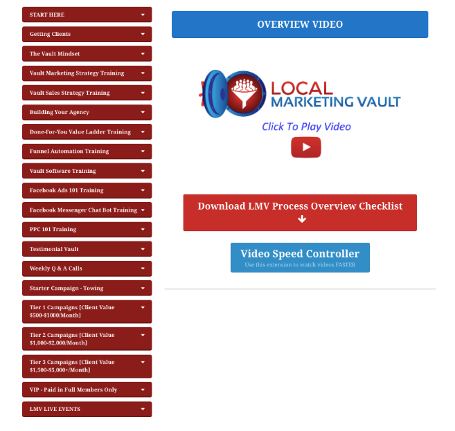 local marketing vault review