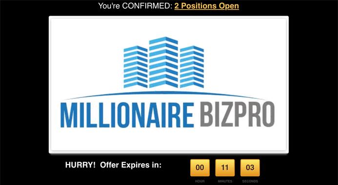 millionaire biz pro review