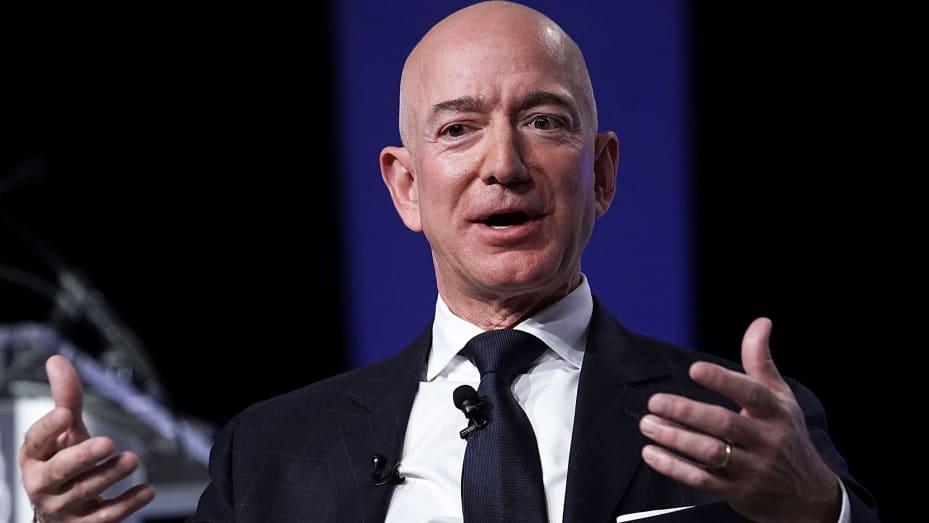 Bezos of Amazon