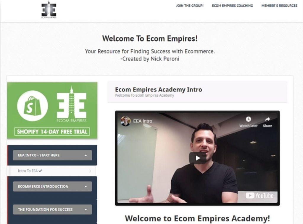 eCom Empires Course