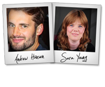 About Sara Young & Andrew Hansen